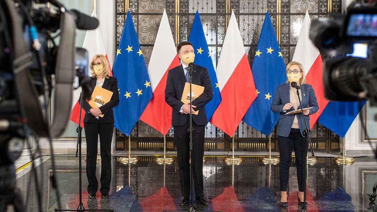 Polska 2050 zaproponowała rządowi konkretny plan zarządzenia trzecią falą pandemii