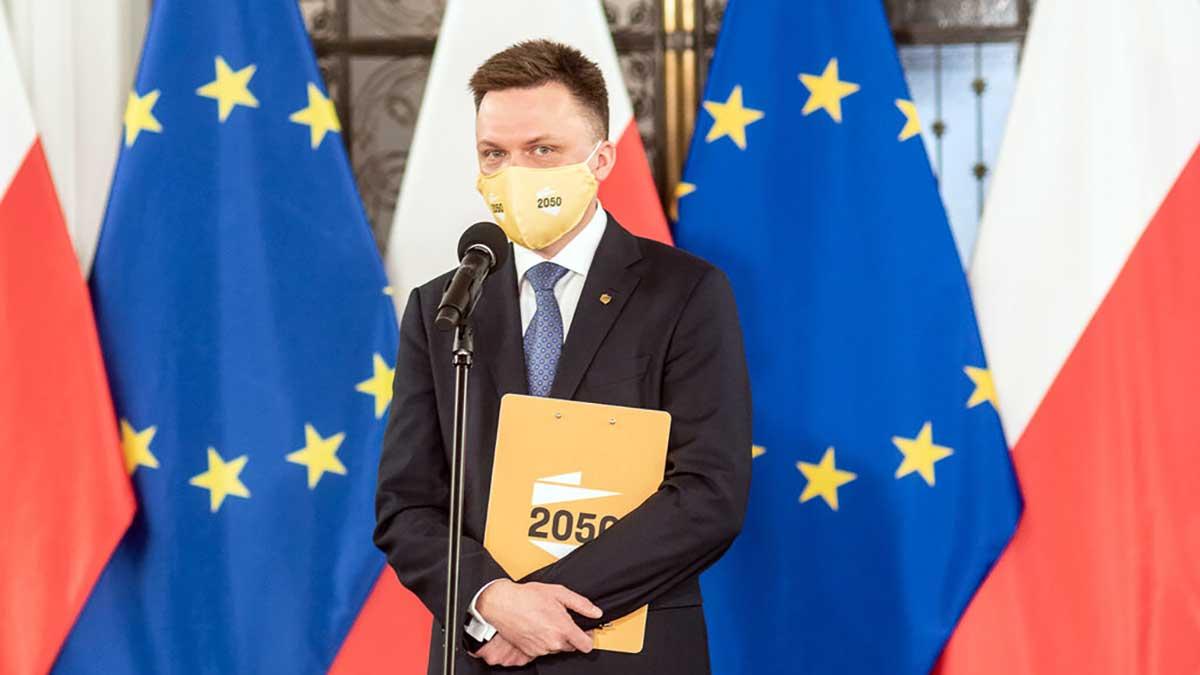 Polska 2050 wyprzedza KO