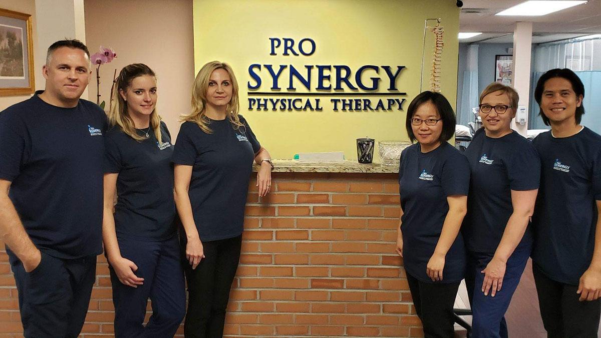 Opieka po operacji i fizykoterapia w NJ. Leczenie bólu masażem w ProSynergy Physical Therapy