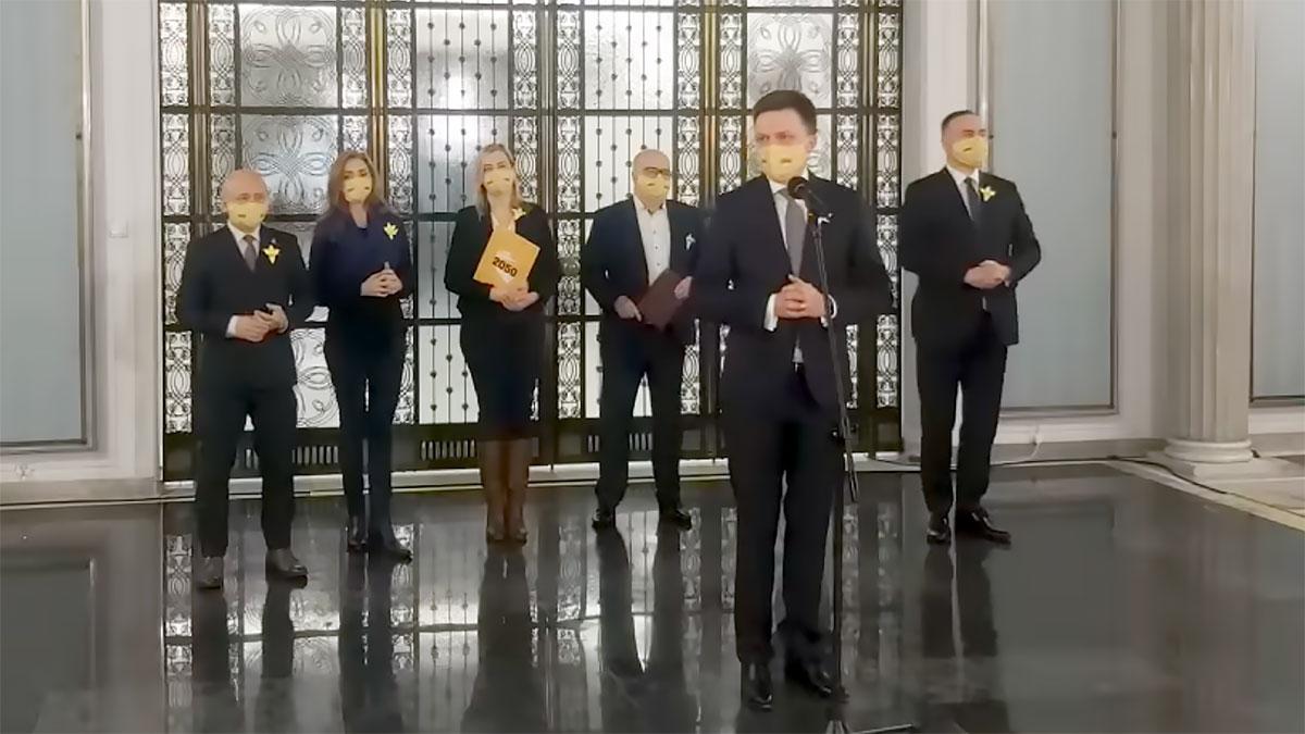 Szymon Hołownia w sprawie wyroku Trybunału Konstytucyjnego dot. Adama Bodnara