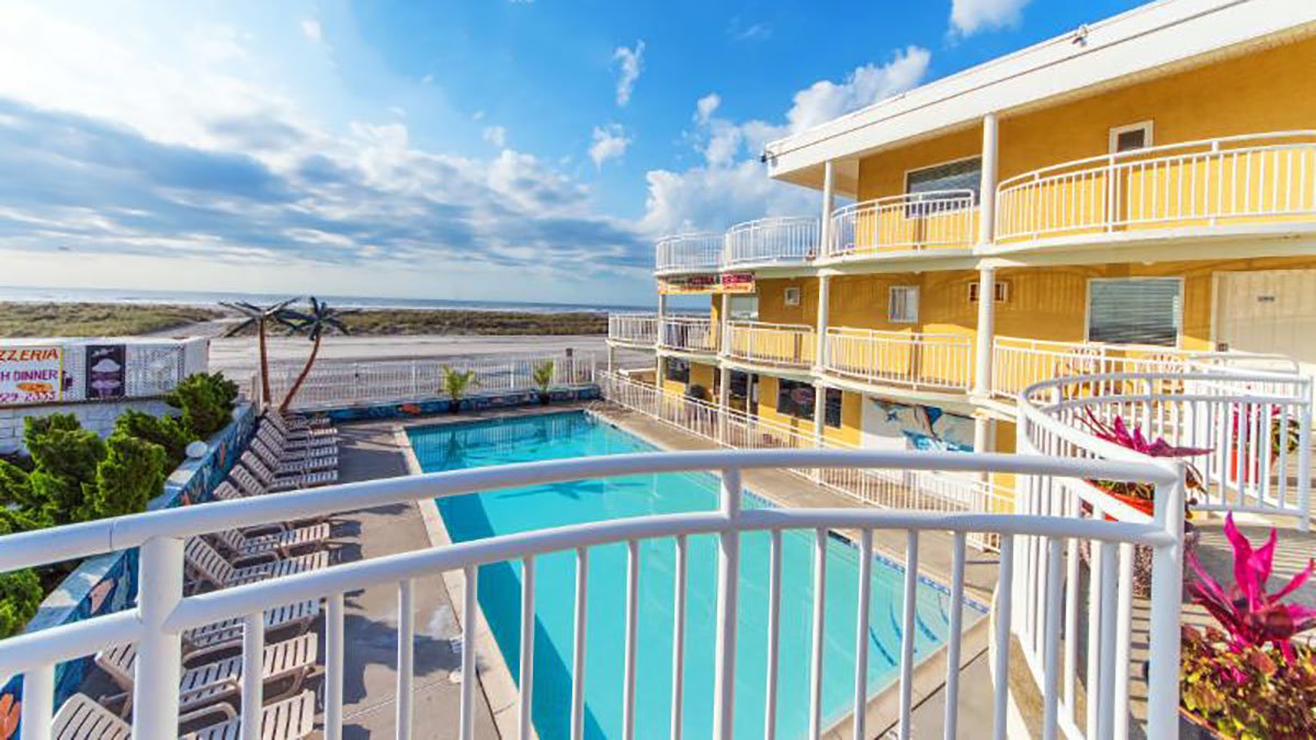 NJ. Enjoy the Breeze on the Beach this Spring & Summer at the Coliseum Ocean Resort
