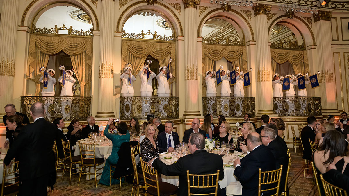 The Tradition of The Famous KF Annual Fundraising Dinner & Ball