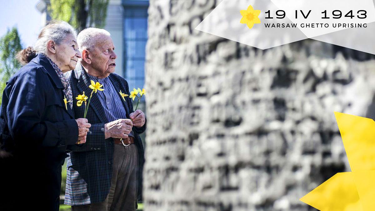 19 kwietnia 1943 wybuchło powstanie w getcie warszawskim