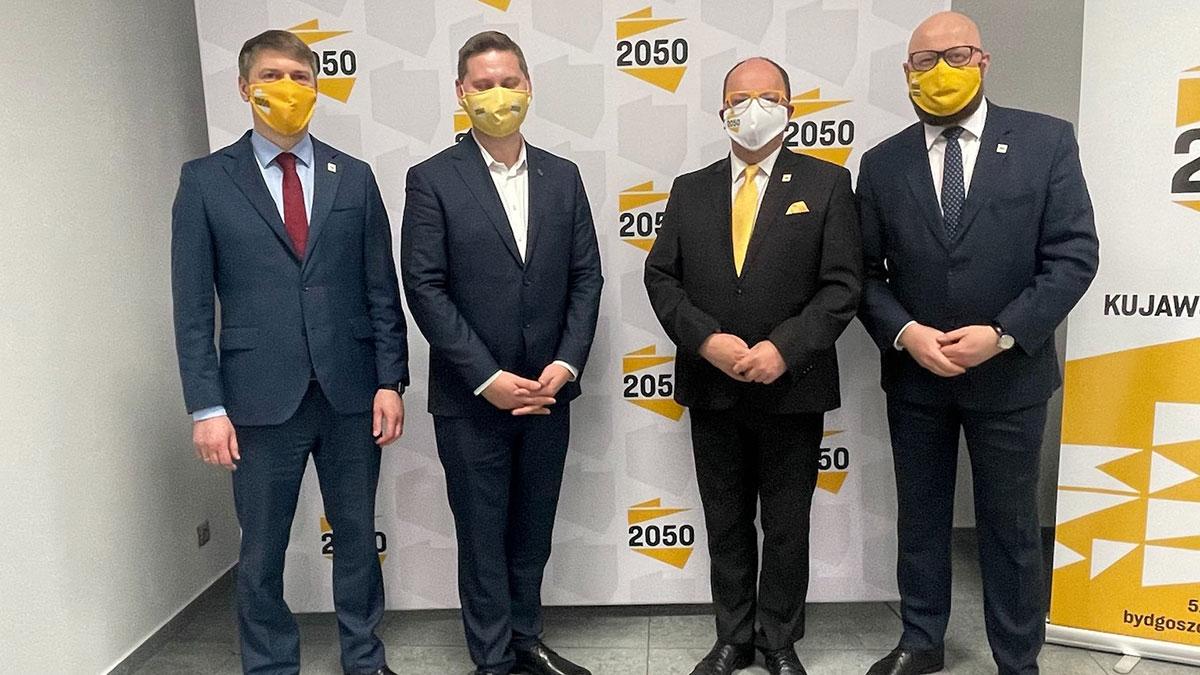 Wiceprezydent Grudziądza i wójt gminy Płużnica dołączają do Polski 2050 Szymona Hołowni