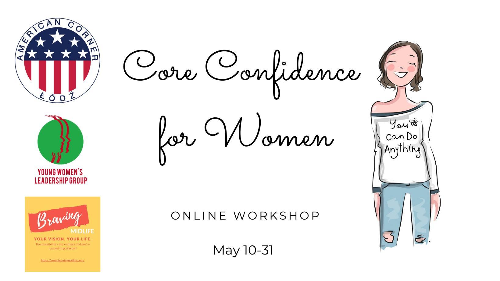 Core Confidence for Women - warsztaty online dla kobiet