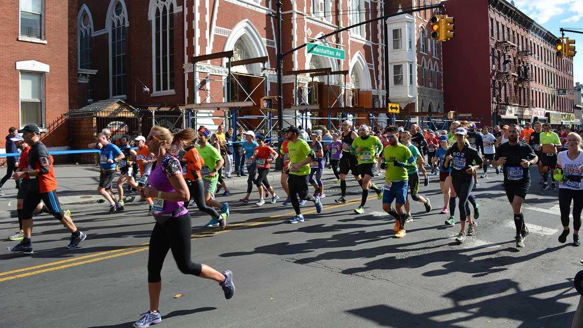 Maraton w Nowym Jorku wraca po przerwie w zeszłym roku