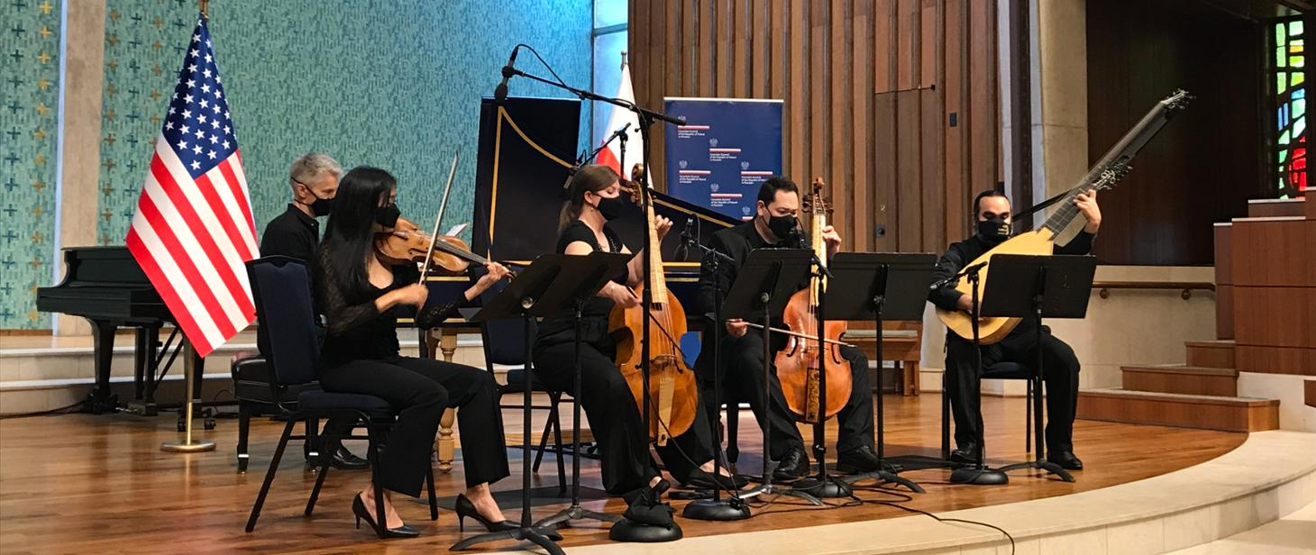 Concert Cantio Polonica - Hidden Gems from the Polish Baroque in Houston. May 23rd, at 6:00 pm