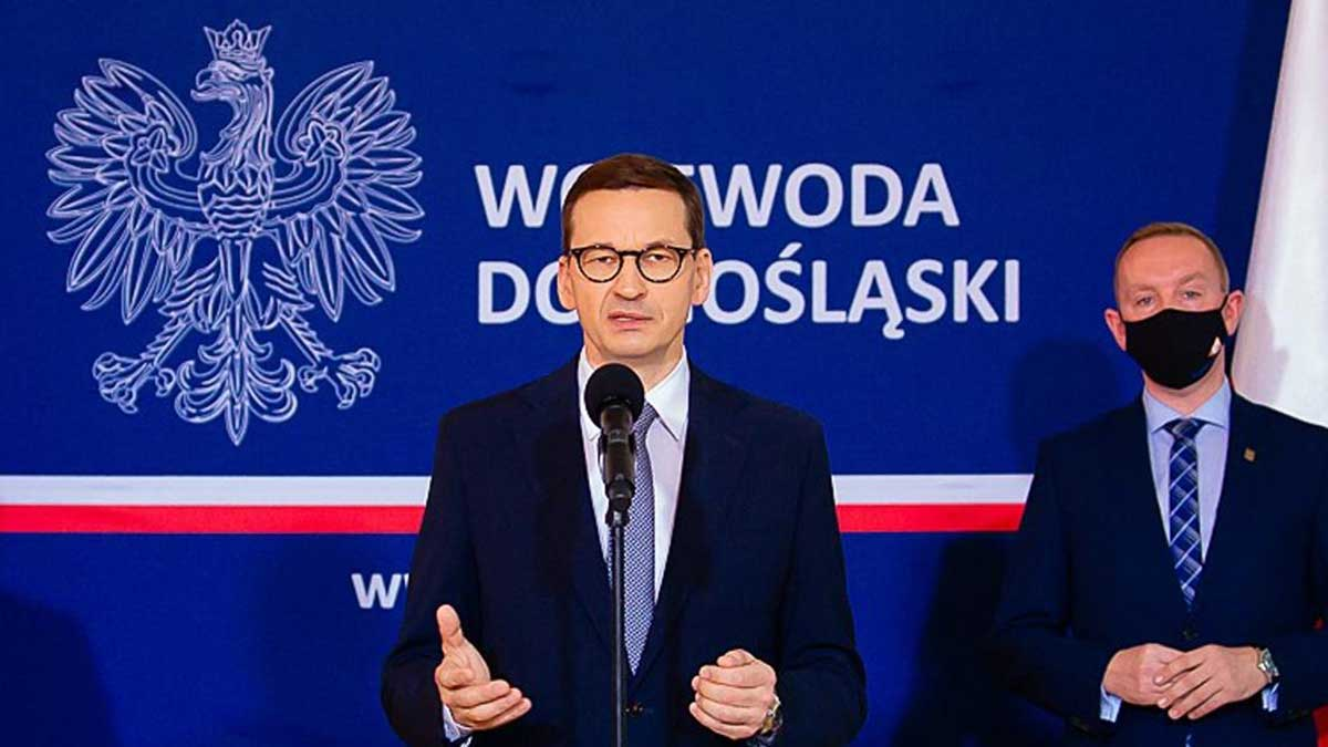 Premier Morawiecki. Niebezpieczna decyzja Trybunału Sprawiedliwości UE w sprawie kopalni Turów