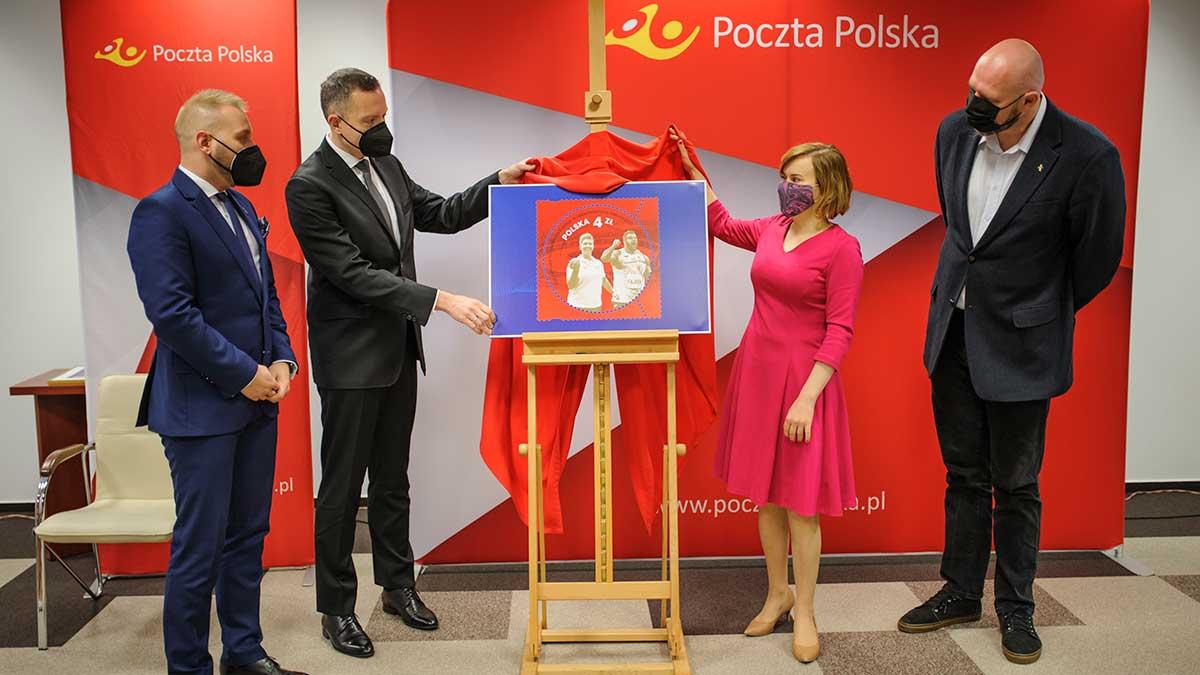 Drużynowe Mistrzostwa Europy w Lekkoatletyce na nowym znaczku Poczty Polskiej