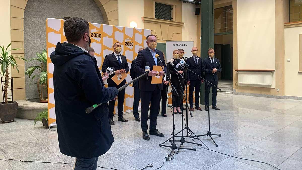 Michał Kobosko pełnomocnikiem partii Polska 2050 Szymona Hołowni w województwie dolnośląskim