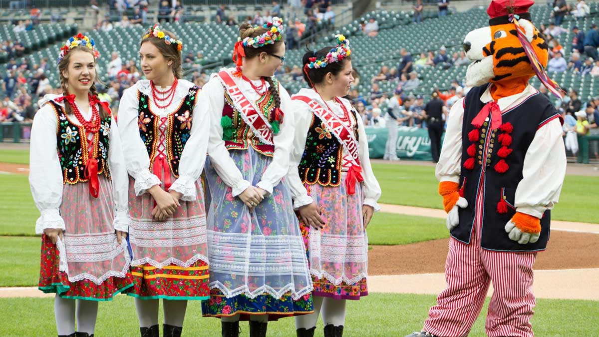 50th Polish American Heritage Night Hosted by the Detroit Tiger's
