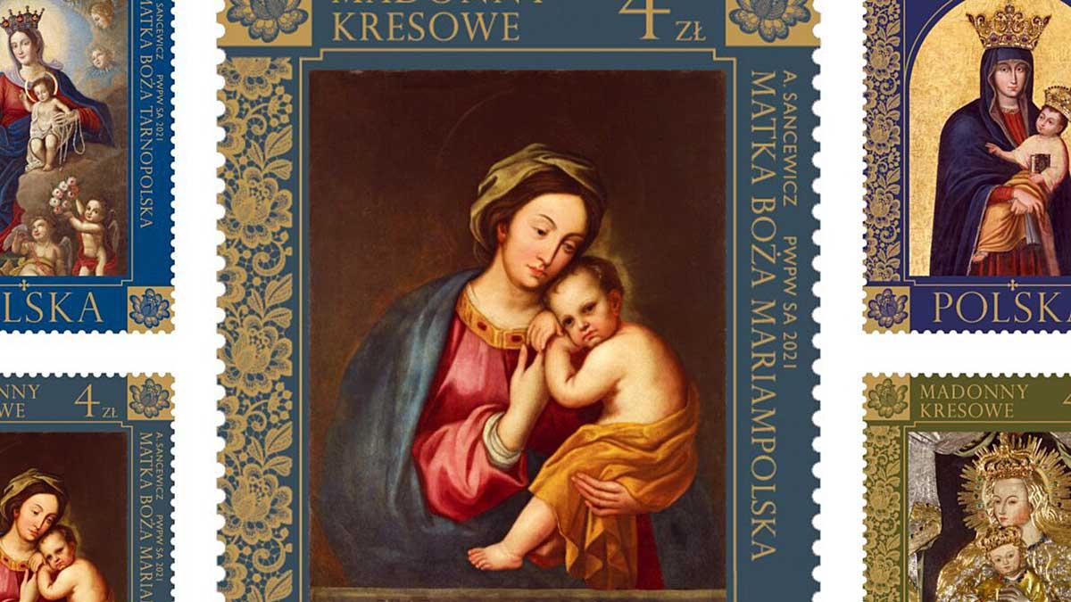 """""""Madonny Kresowe"""" na serii znaczków Poczty Polskiej"""