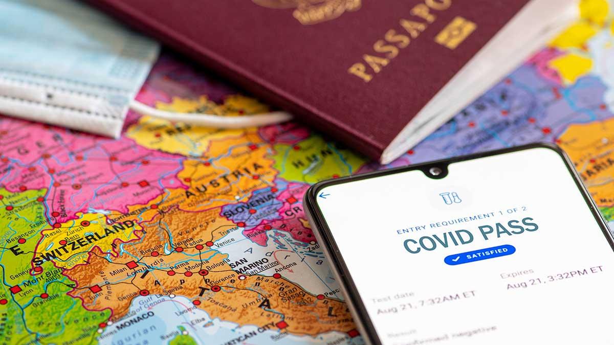 Unijny certyfikat Covid na swobodną podróż po UE w czasie pandemii