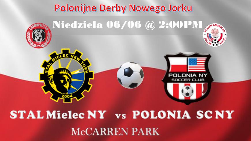 Derby Nowego Jorku w McCarren Park na Greenpoincie. Stal Mielec NY vs Polonia SC NY