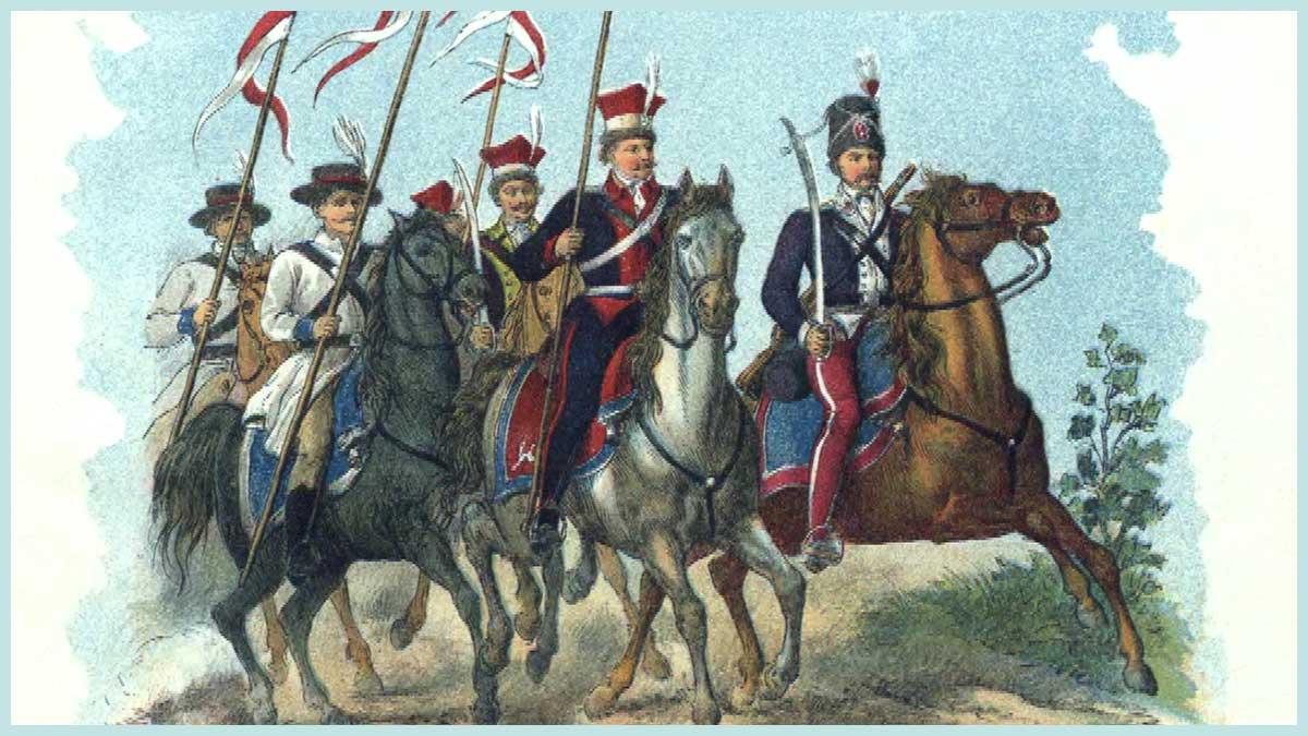 Antoni Grocholski - Rotmistrz Kawalerii Narodowej