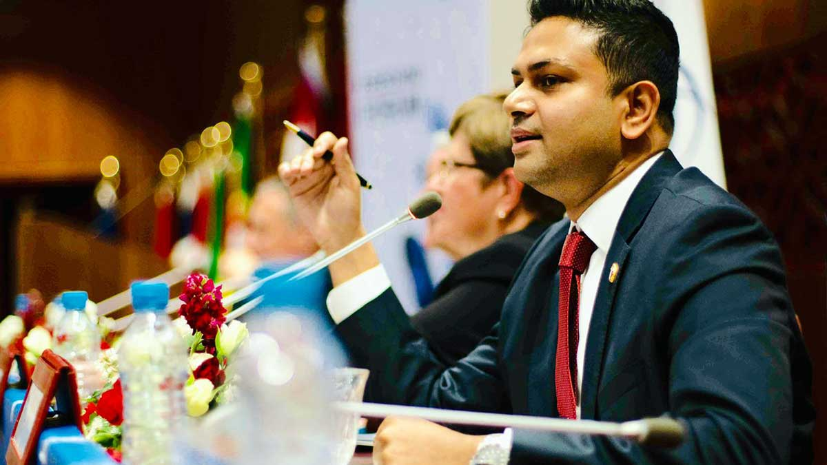 Trilateral Global Summit 16th June 2021