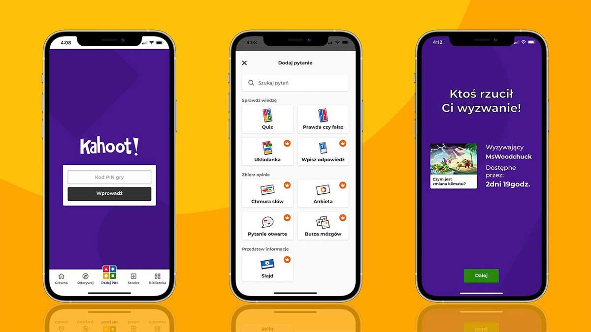 Aplikacja mobilna Kahoot!, która na całym świecie czyni naukę niesamowitą, startuje w Polsce