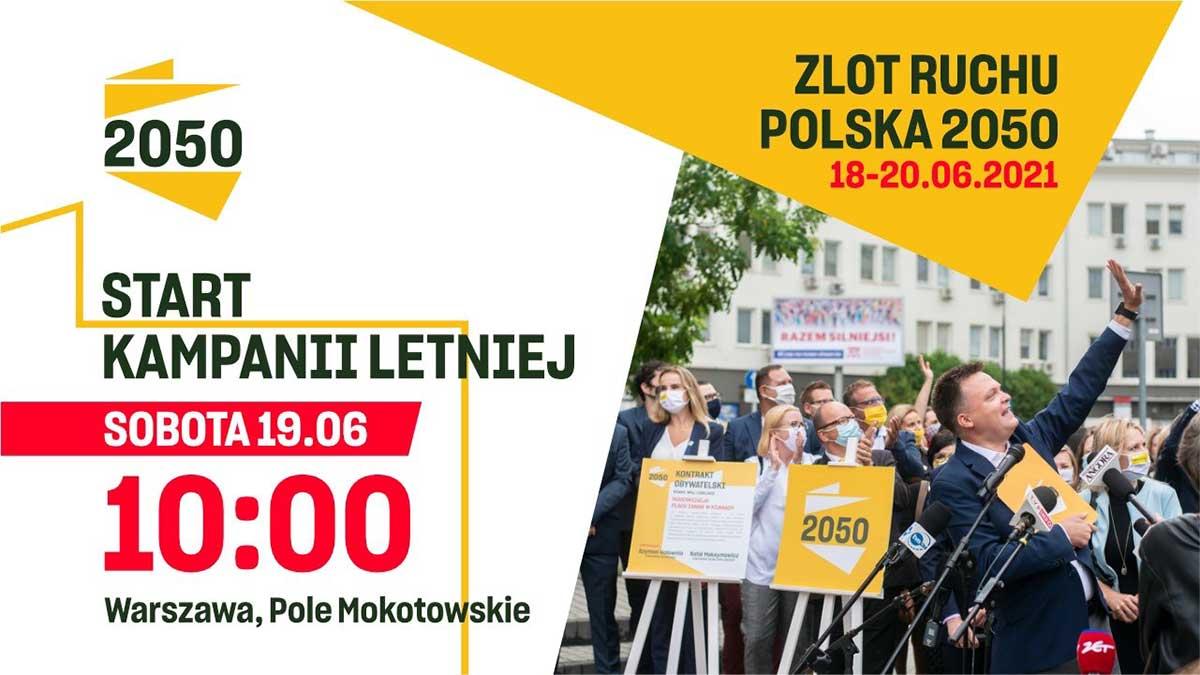 Pierwszy Zlot Ruchu Polska 2050