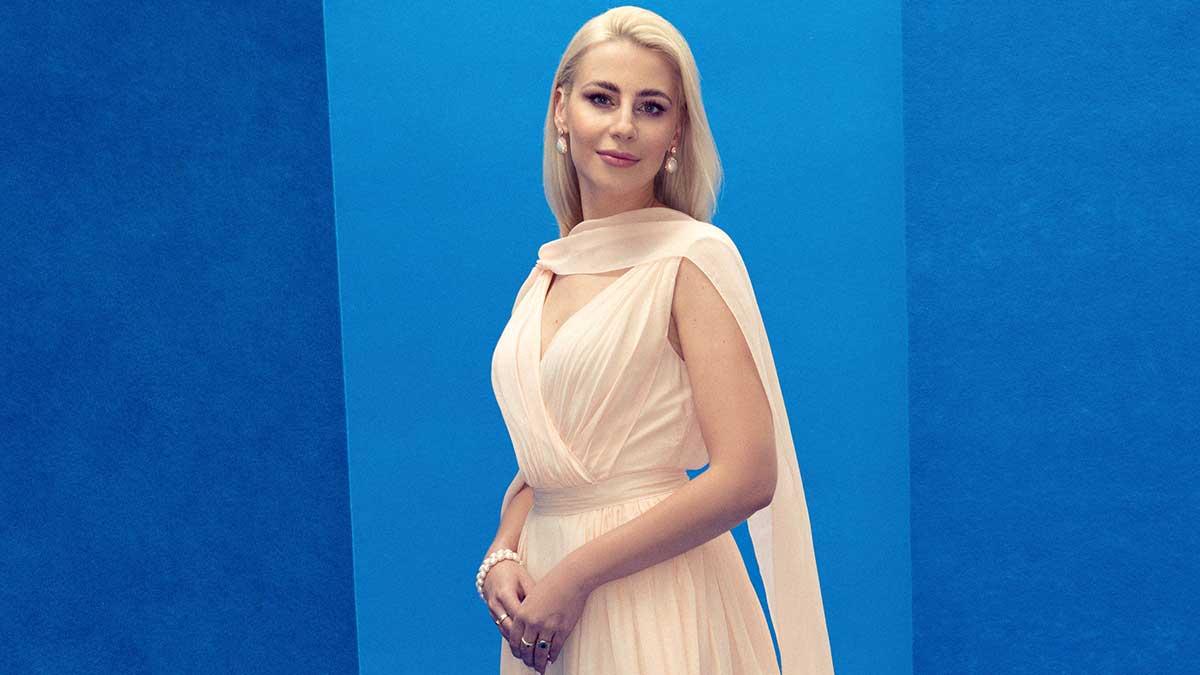 "World Humanitarian Drive Conferred the ""Global Humanitarian Award"" to HSH Princess Angelika Ewa Jaroslawska Sapieha"