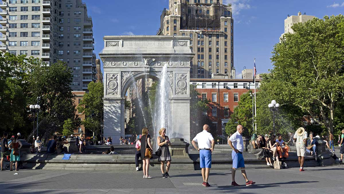 Niebezpieczne upały w Nowym Jorku. Wysokie temperatury i zwiększona wilgotność