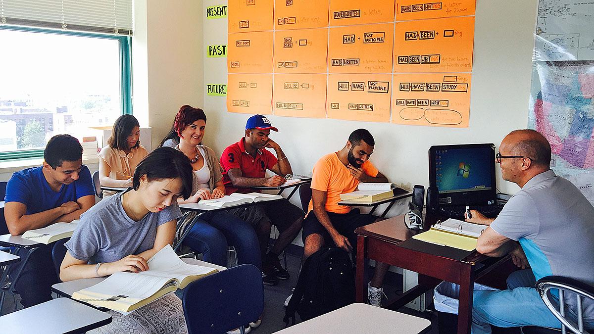 Nauka języka angielskiego w Campus Education w NJ