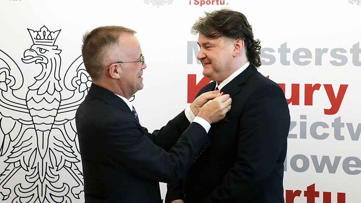 Janusz Jarosławski uhonorowany Medalem Gloria Artis