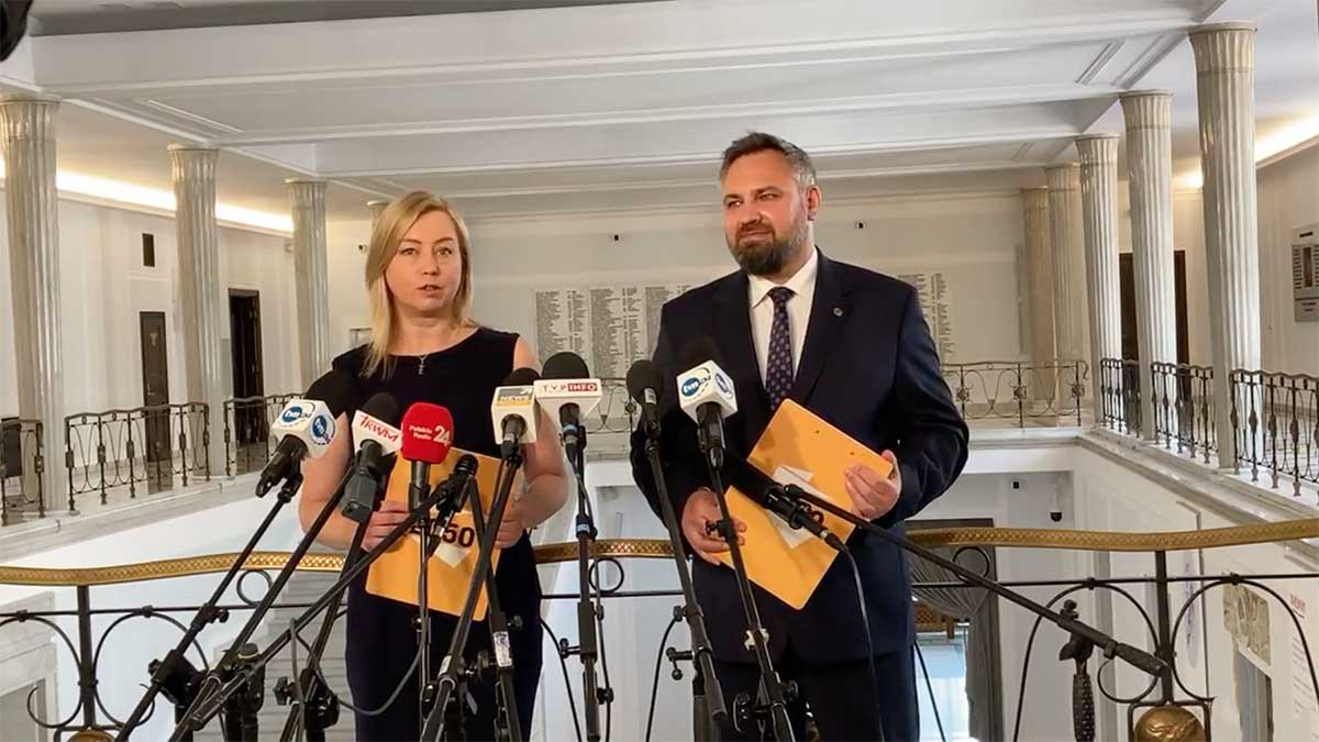 """Polska 2050 mówi: """"Sprawdzam"""" i wnioskuję o przedstawienie informacji premiera na temat skali nepotyzmu w spółkach skarbu państwa"""