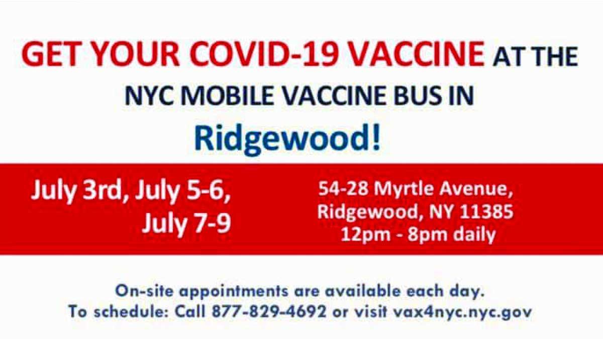 Bezpłatne szczepienia na Covid-19 na Ridgewood, NY. Na miejscu polscy tłumacze
