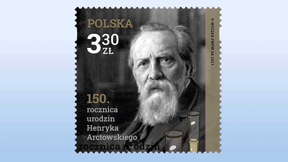 150. rocznica urodzin Henryka Arctowskiego. Nowy znaczek Poczty Polskiej