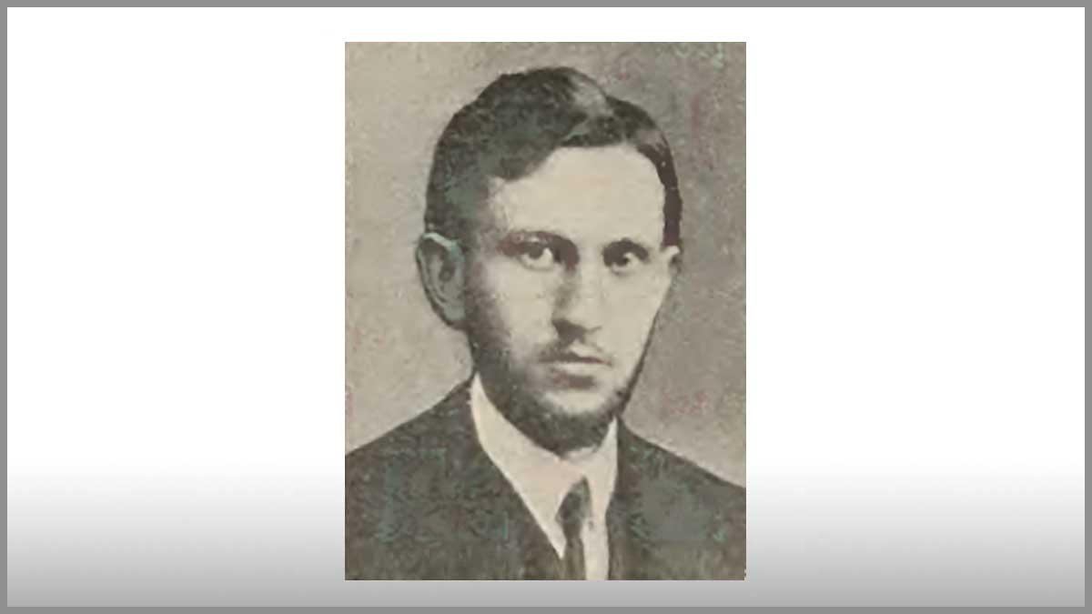 Ludwik Maria Staff - brat sławnego Leopolda