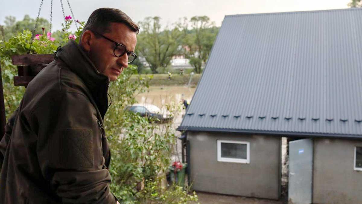 Przez gwałtowne burze z ulewami w Małopolsce zostało podtopionych około 104 domostw