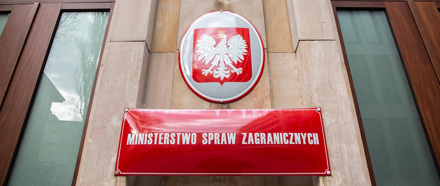 Ostrzeżenie MSZ o fałszywych telefonach do obywateli RP i cudzoziemców przebywających w Polsce