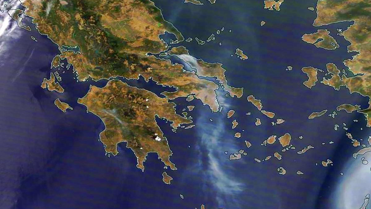 Klęska żywiołowa w Grecji o bezprecedensowych rozmiarach