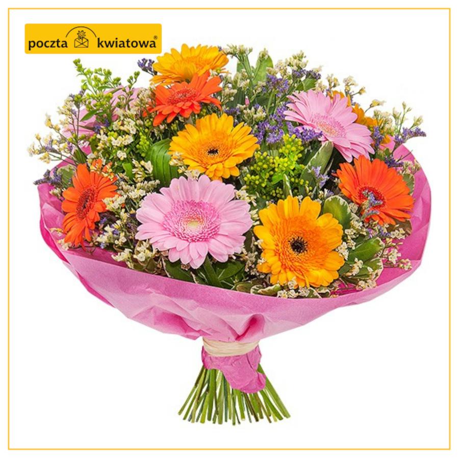 Kwiaty do Polski z USA wysyła Poczta Kwiatowa
