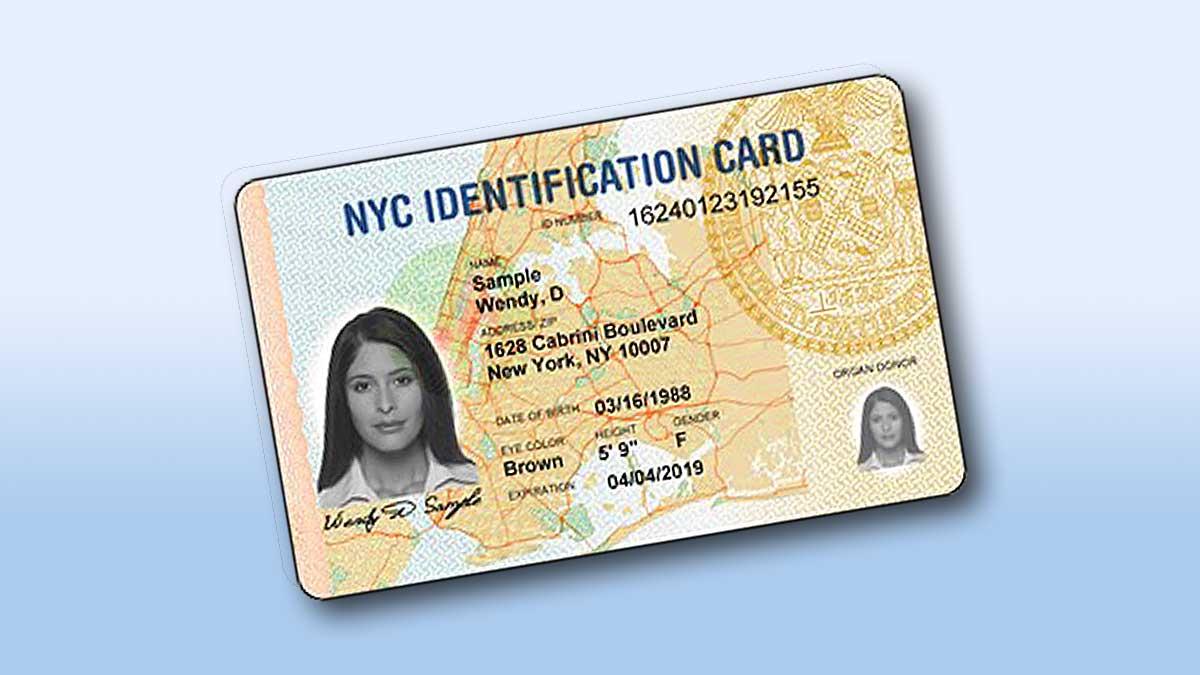 Okres odnawiania kart IDNYC dla mieszkańców masta Nowy Jork został wydłużony