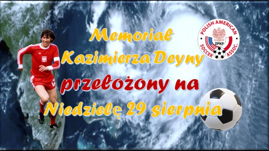 Memoriał Kazimierza Deyny został odwołany z powodu huraganu
