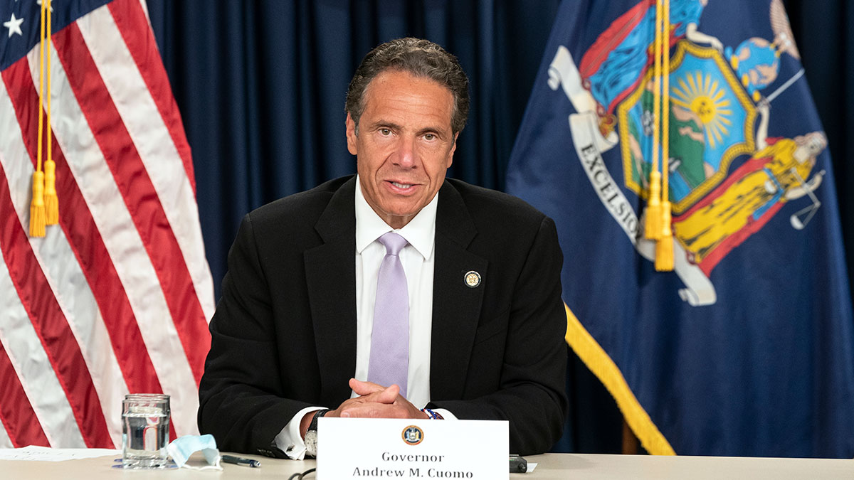 """""""Thank you for the honor of serving you"""" - Governor Andrew M. Cuomo"""
