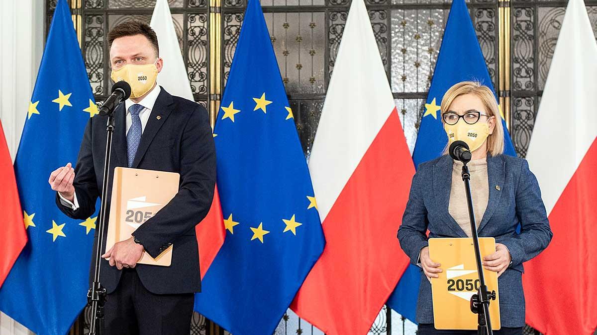Paulina Hennig-Kloska rzeczniczką partii Polska 2050 Szymona Hołowni