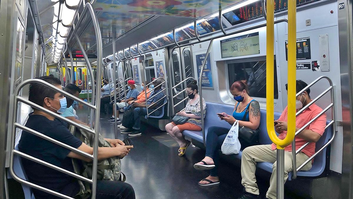 Rekordowe liczby pasażerów w nowojorskim metrze