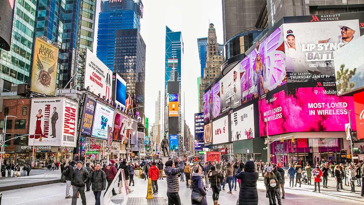 NYC. Broadway otwarty!