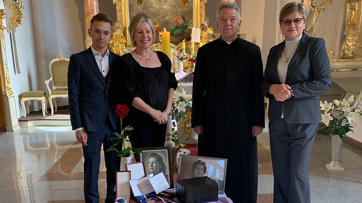 Ostatnie pożegnanie Walentyny Janta-Połczyńskiej