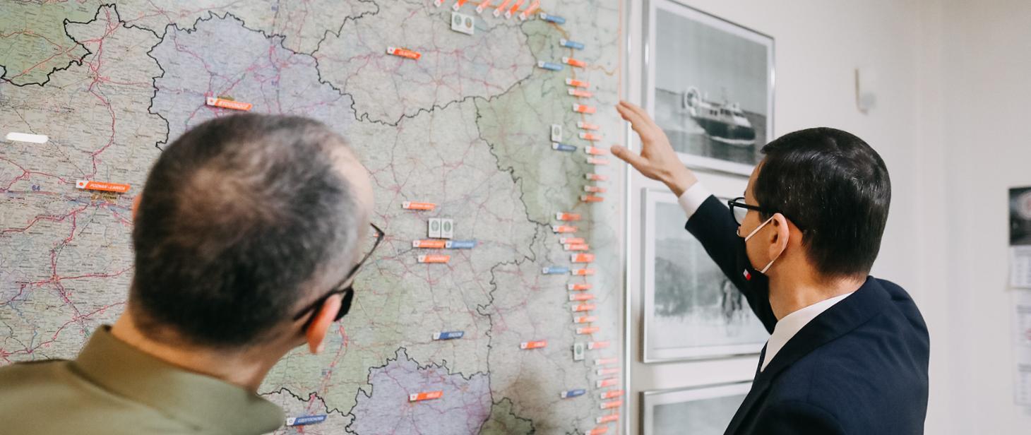 Coraz więcej nielegalnych przekraczających wschodnią granicę Polski