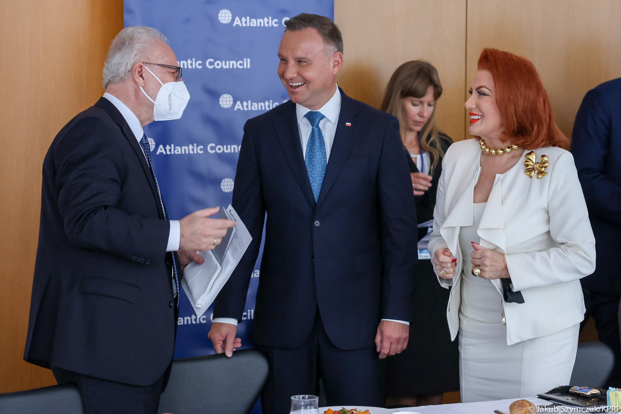 Spotkanie Prezydenta RP z przedstawicielami think-tank Atlantic Council