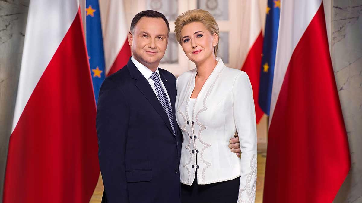 Przeniesione spotkanie Polonii z Andrzejem Dudą i Agatą Kornhauser-Dudą w Linden
