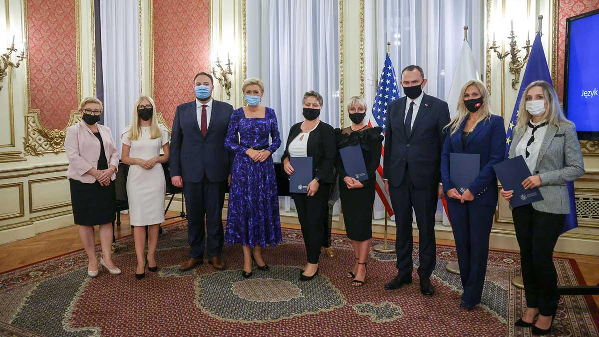 Agata Kornhauser-Duda spotkała się z nauczycielami polonijnymi w USA