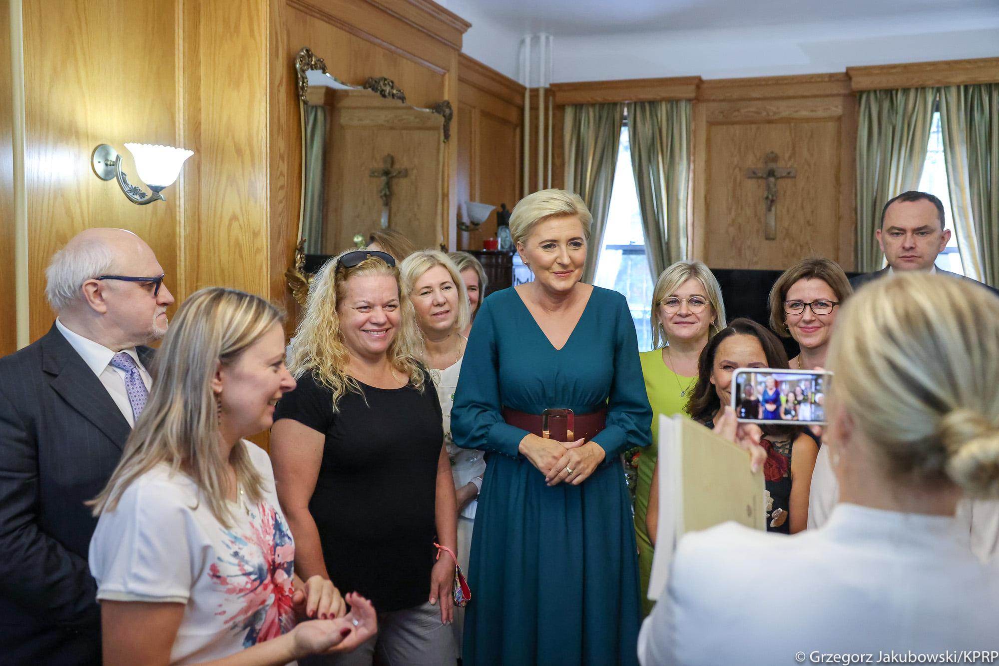 Pierwsza Dama w polskiej parafii p.w. św. Stanisława Biskupa i Męczennika na Manhattanie