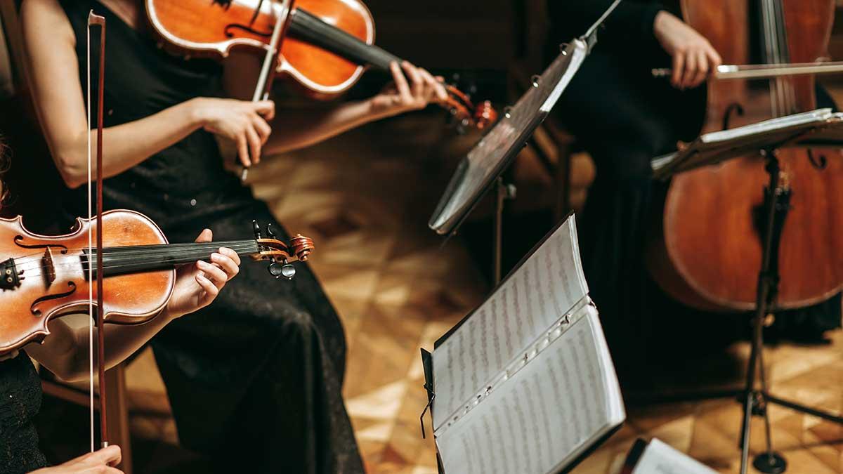 Koncert kwartetu smyczkowego Slavic Arts Ensemble w Greenpoint Library