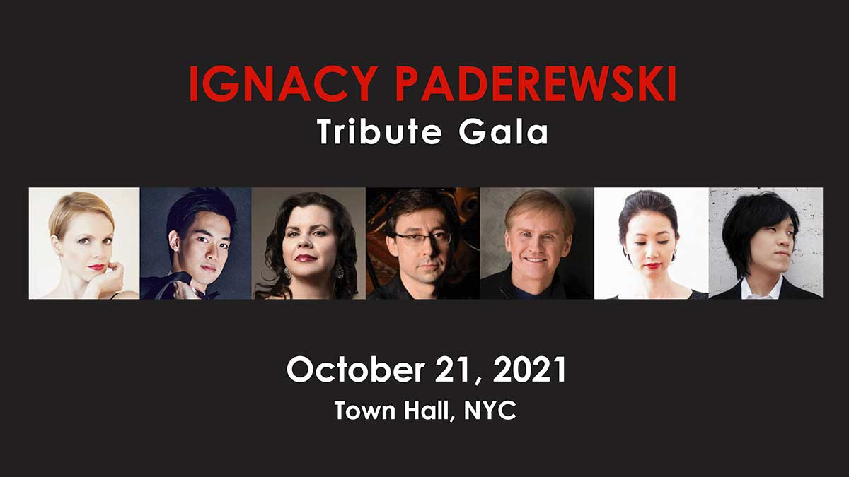 Gość specjalny, MaryAnn McCormick, solistka Metropolitan Opera w NY na Gali Koncertowej na cześć Ignacego Paderewskiego