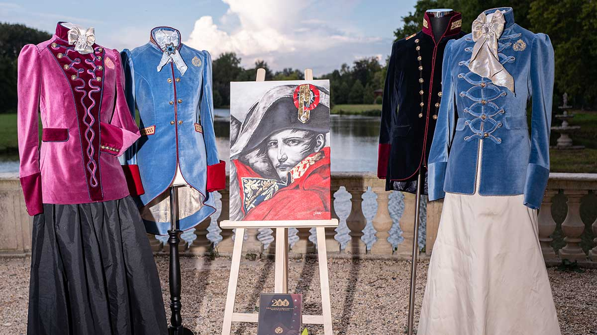"""Royal Militare exclusive collection inspired by the """"Bicentenary of Napoleon Bonaparte"""" was presented at the Chateau d'Ermenonville, France at the grand ball"""