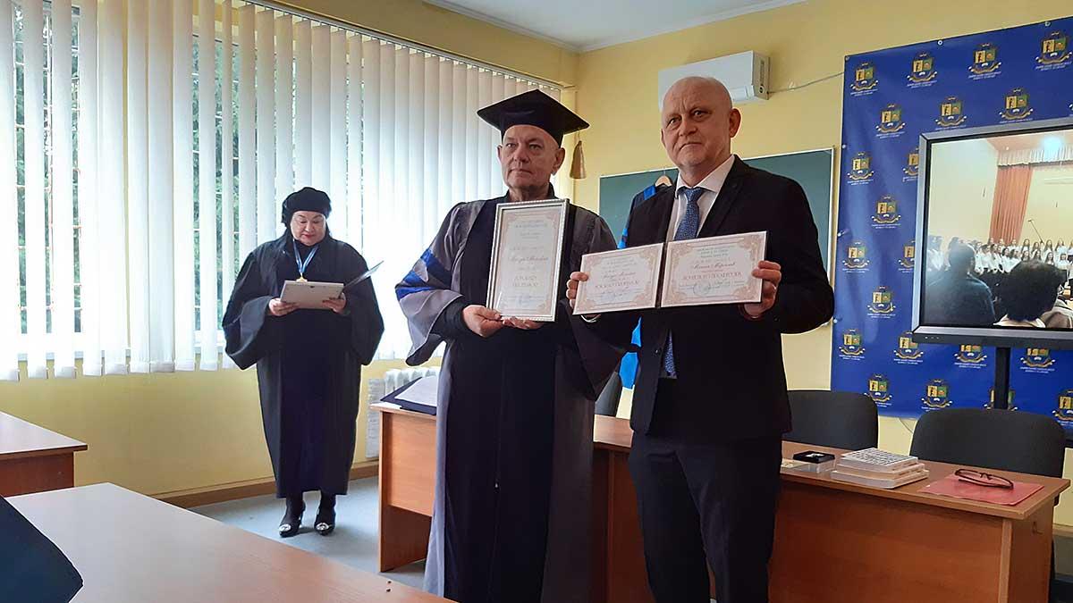 Lwów. Doktorat Honoris Causa i tytuł profesora honorowego dla prof. Mirosława Matyji